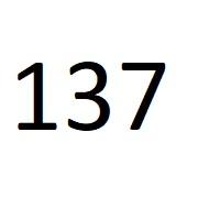 137 راز عدد