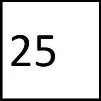 25 راز عدد بیست و پنج