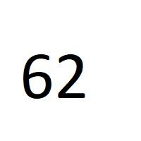 62 راز عدد