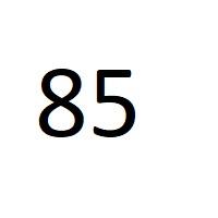 85 راز عدد