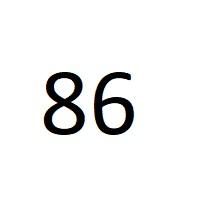 86 راز عدد