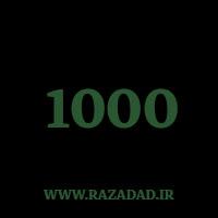 1000 راز عدد معنا و مفهوم