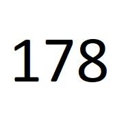 178 راز عدد