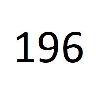 196 راز عدد