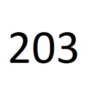 203 راز عدد