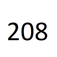 208 راز عدد