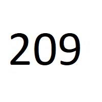 209 راز عدد