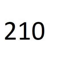 210 راز عدد