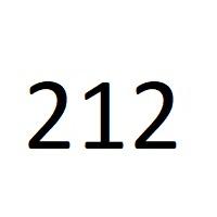212 را عدد