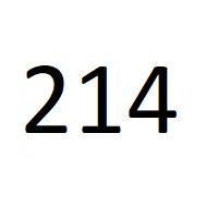 214 راز عدد