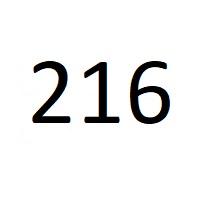 216 راز عدد