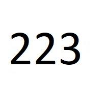 223 راز عدد معنا و مفهوم