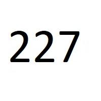 227 راز عدد معنا و مفهوم