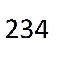 234 راز عدد