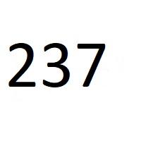 237 راز عدد