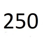 250 راز عدد معنا و مفهوم