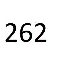 262 راز عدد معنا و مفهوم