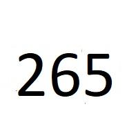 265 راز اعداد معنا و مفهوم
