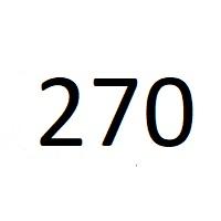 270 راز عدد