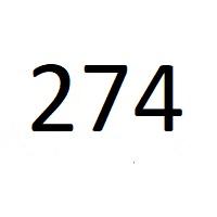 274 راز عدد معنا و مفهوم