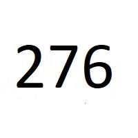 276 راز عدد