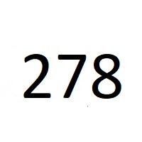 278 راز عدد معنا و مفهوم