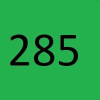 285 راز عدد معنا و مفهوم