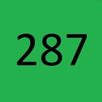 287 راز عدد معنا و مفهوم