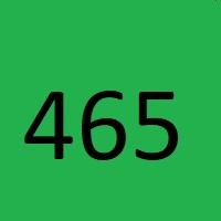 465 راز عدد معنا و مفهوم