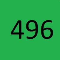 496 راز عدد معنا و مفهوم
