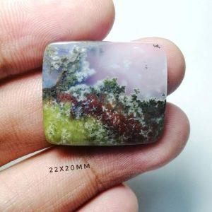 Moss Agate افسانه ها و فواید سنگ عقیق خزه