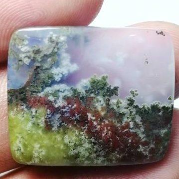 Moss Agate فواید و خواص سنگ عقیق خره ای