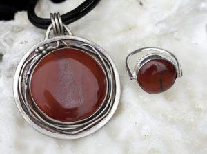 Red Jasper 8 جاسپر قرمز