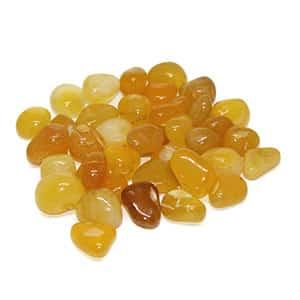 Yellow Agate فواید و خواص سنگ عقیق زرد