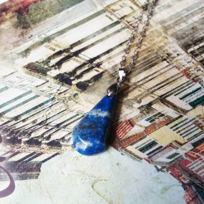 J189 خرید سنگ لاجورد - بهبود چاکرای گلو - چشم سوم - Lapis Lazuli