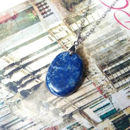 J192 سنگ لاجورد - بهبود چاکرای گلو و چشم سوم - Lapis Lazuli